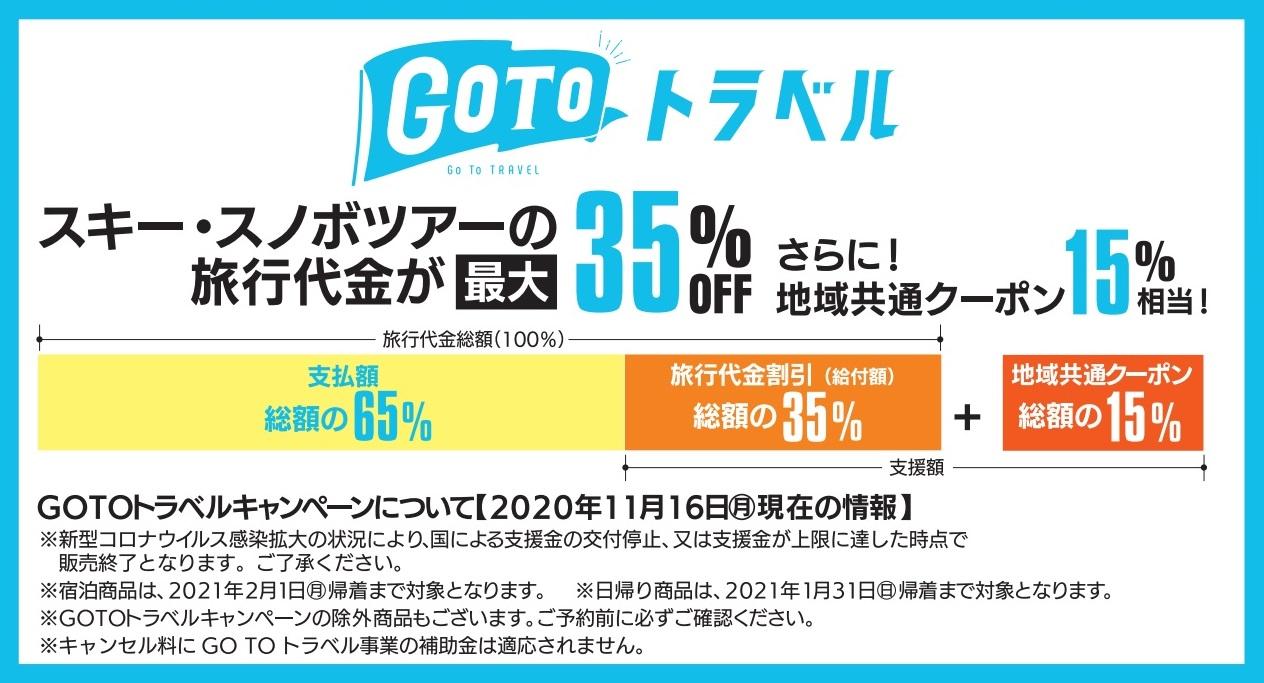 GoToキャンペーン情報