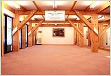 ロッジ観山荘研修室